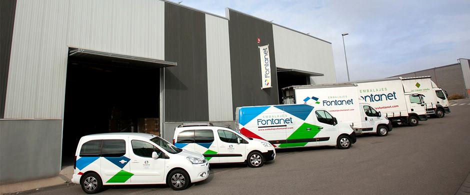 Flota vehículos Fontanet