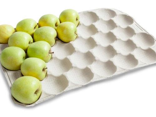 alveolos para fruta - celulosa