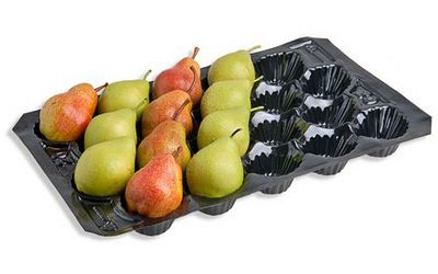 Alveolos para fruta - peras